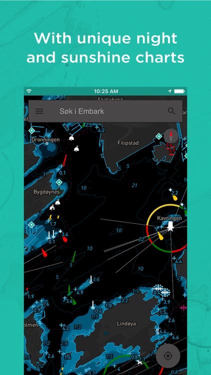 Embark:Personal nautical chart screenshot-3