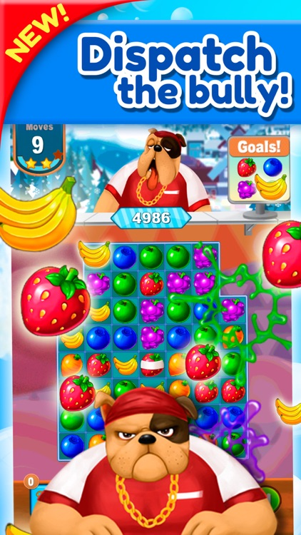 Sweet Fruit Jam Match 3 Game screenshot-4
