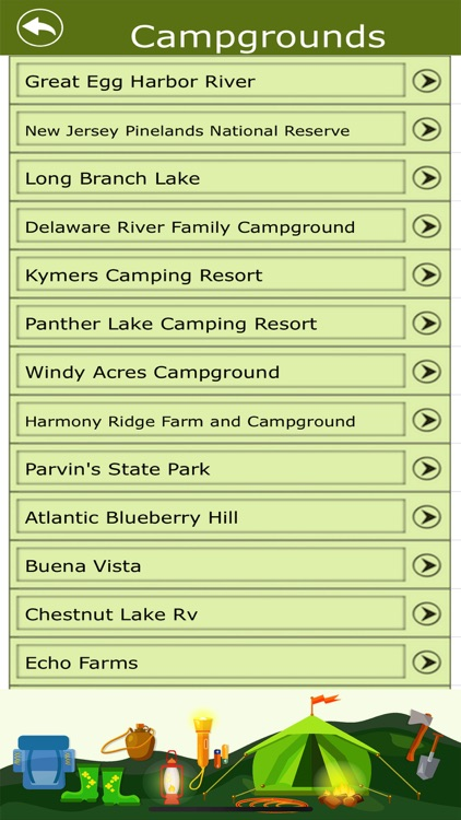 New Jersey Campground & Trails screenshot-2