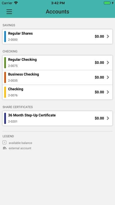 Screenshot for ASE Credit Union in South Africa App Store