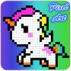 Pixel Unicorn - Page By Number