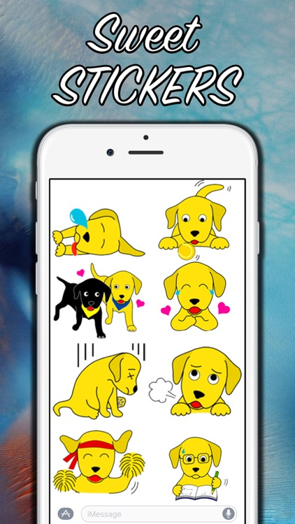 Dog Assistant - Stickers! screenshot-2