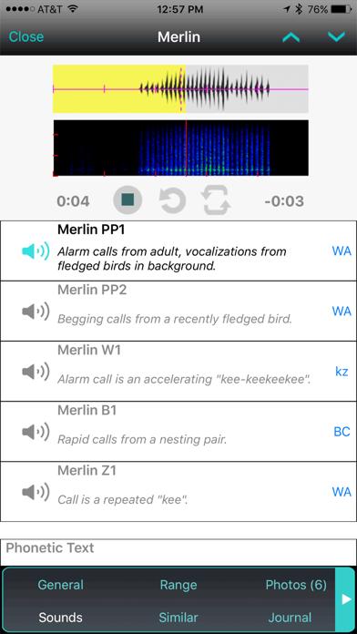 iBird UK Pro Guide to Birds Screenshot