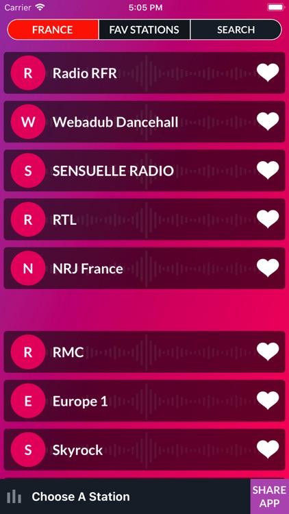 Live FM - World Radio Stations screenshot-3