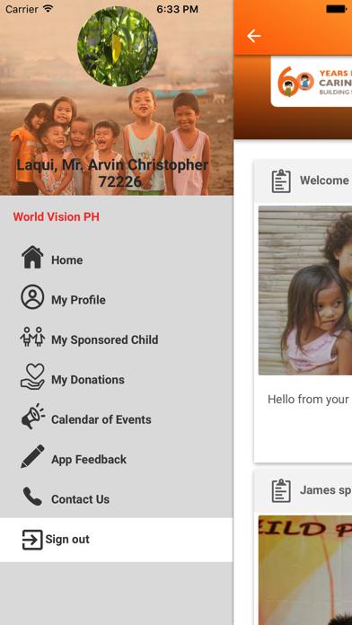 World Vision PH screenshot three