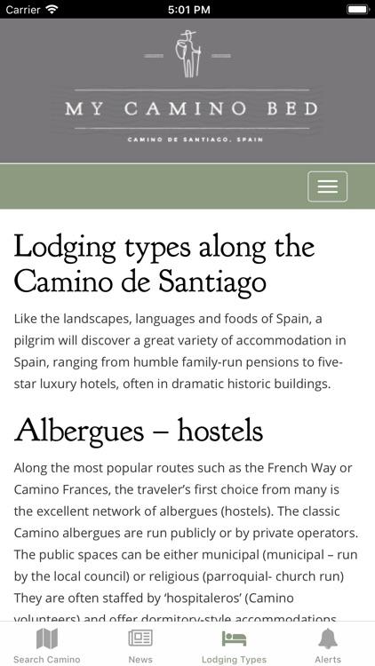 Camino de Santiago Hotels screenshot-3