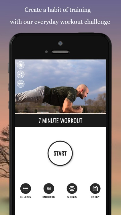 7 Minute Workout Fitness App