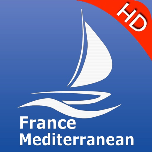 France Med. Nautical Chart Pro