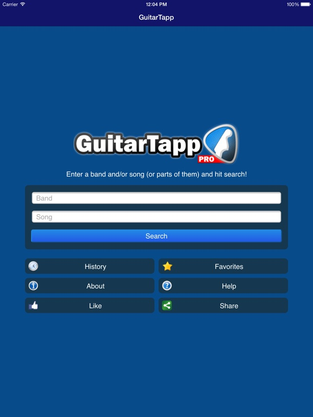 Guitartapp Pro Tabs Chords On The App Store