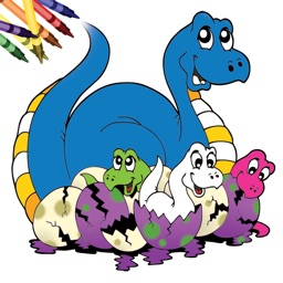 Dinosaur Coloring Book!