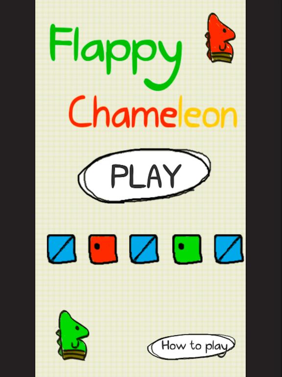 Flappy Chameleon screenshot 6
