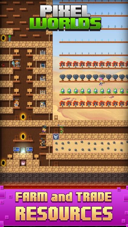 Pixel Worlds screenshot-4