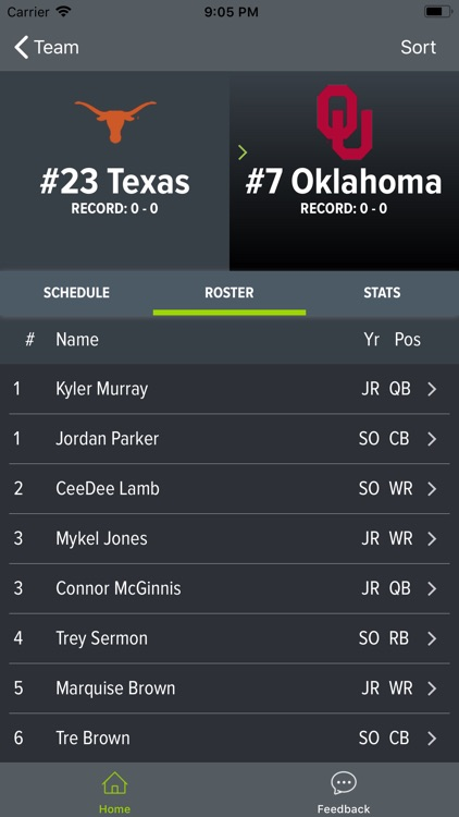 Texas Football 2018 screenshot-3