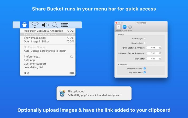 Share Bucket - Image Sharing скриншот программы 2