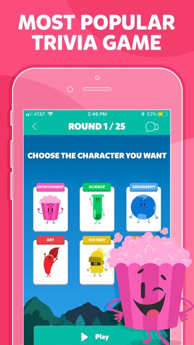 Screenshot of Trivia Crack (No Ads) App