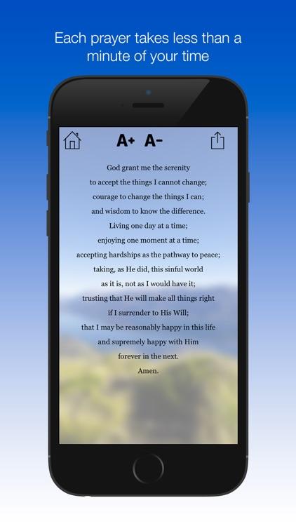 A Minute of Prayer