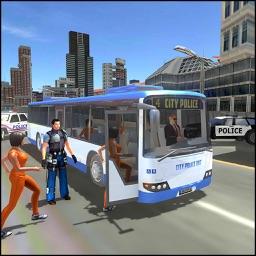 Police Airplane Criminals Fight Transport Sim