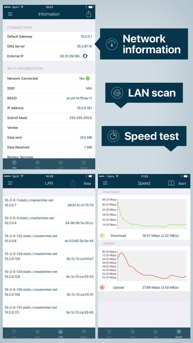 WiFi Analyzer: Network Tools Screenshots
