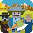 Пиксельная городская зомби icon