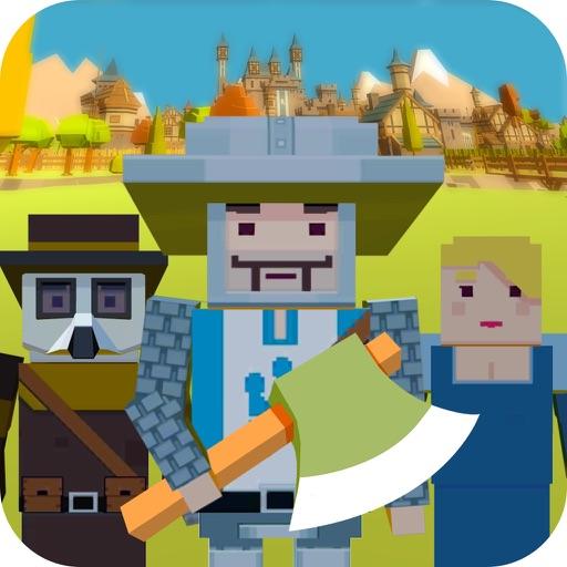 Пиксельная городская зомби