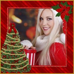 Christmas Photo Frames Effect