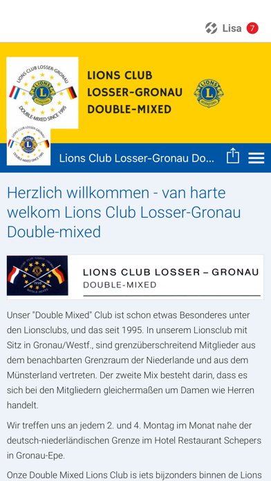 Lionsclub Twente-Münsterland screenshot 1