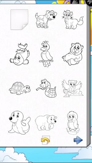 Kleurplaten Inkleuren Op Ipad.Kleurboek Voor Kinderen In De App Store