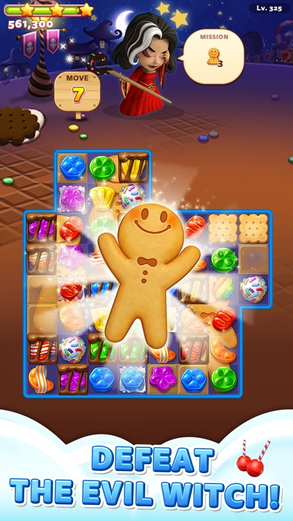 Sweet Road – Cookie Rescue screenshot-3