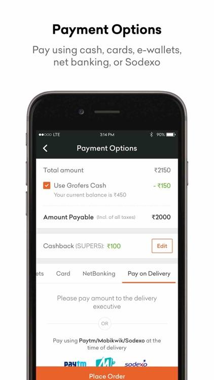 Grofers - Online Grocery screenshot-3