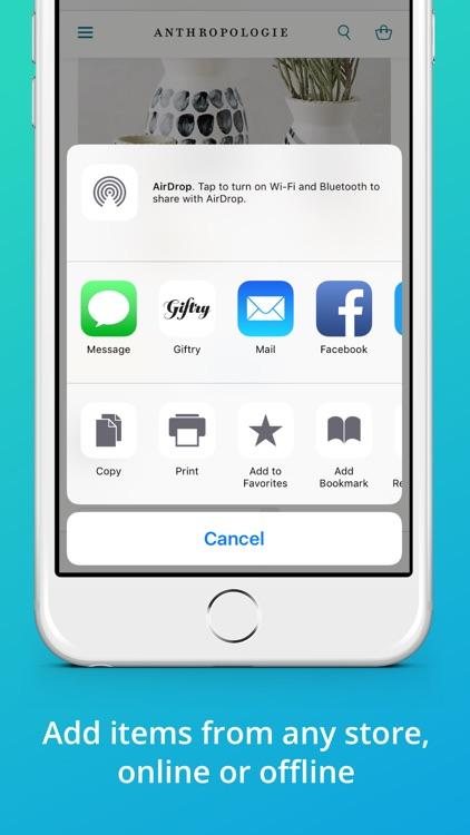 Giftry Wish List & Registry screenshot-3