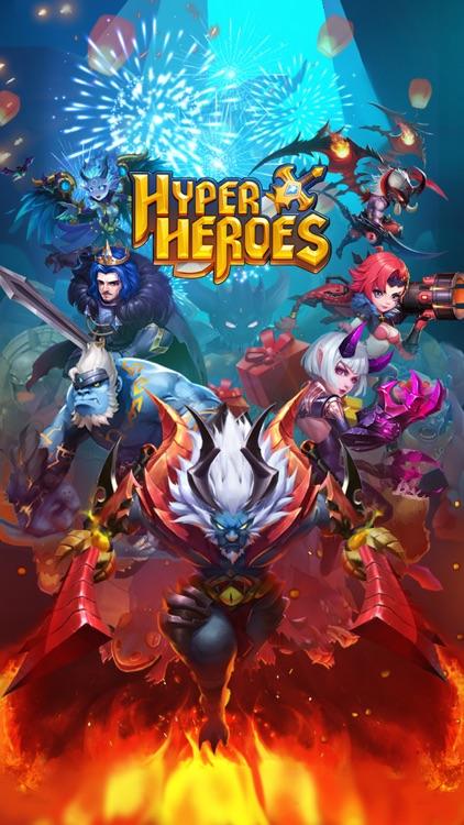 Hyper Heroes: Marble-Like RPG screenshot-0