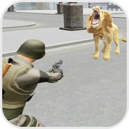 Lion Attack City:Shoot Mission