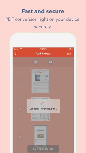 JPG to PDF   Images converter on the App Store