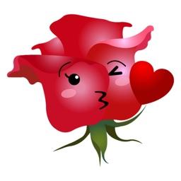 RoseMoji - Rose Emoji & Stickers
