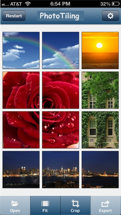 Screenshot for PhotoTiling in Philippines App Store