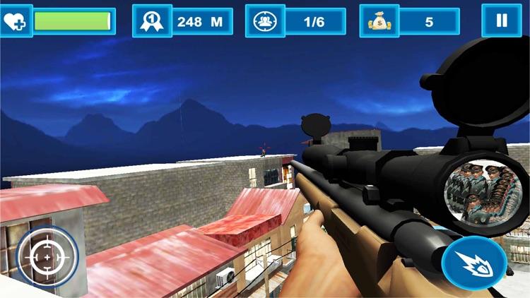 Commando Mission Sniper Shoot screenshot-4