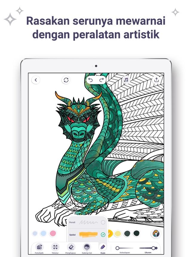 Buku Mewarnai Untukku Di App Store
