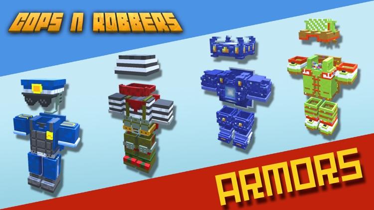 Cops N Robbers (FPS): 3D Pixel screenshot-3