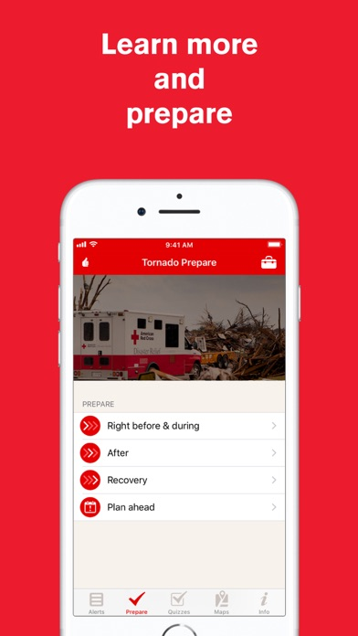 Tornado: American Red Cross for Windows
