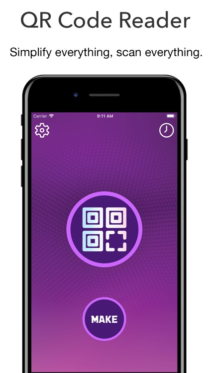 QR Code Reader - Barcode Maker screenshot-0
