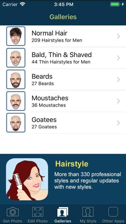 Hair and Beard Styles PRO screenshot-4
