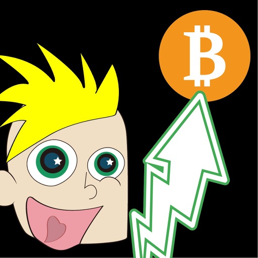 Crazy Crypto Boy Stickers