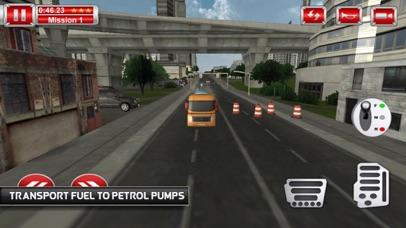 Tanks Oil Driving Mission 3D screenshot 2