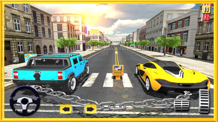 Chained Car Racing 3D
