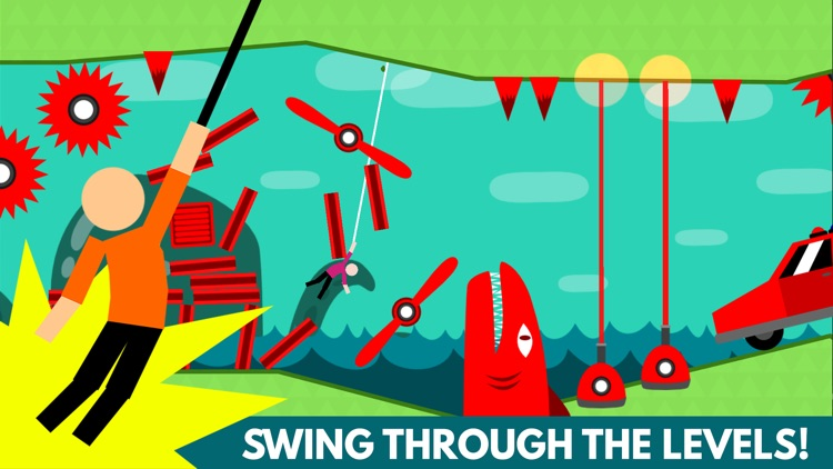 Hanger World - Rope Swing Game screenshot-0