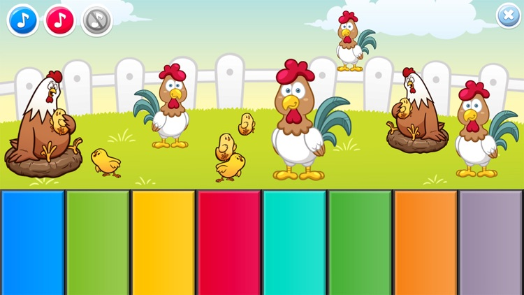 Piano Baby Games for Girls & Boys one year olds screenshot-3