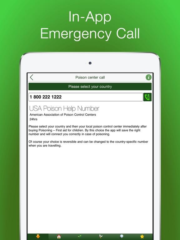 First Aid for Children - Poisoning - Lite screenshot