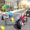 Chained Bikes 3D: Tron Rider