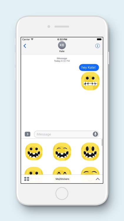 MojiMojo - Free Emoji Stickers screenshot-1