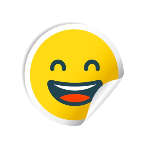 Cute Smile Stickers